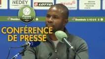 Conférence de presse FC Sochaux-Montbéliard - AC Ajaccio (0-2) : Omar DAF (FCSM) - Olivier PANTALONI (ACA) - 2019/2020