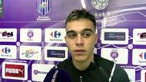 Réaction de Yanis Aked du FC Istres