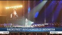 Kemeriahan Konser Backstreet Boys di Jakarta