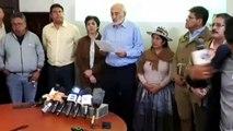 """Mesa desconoce triunfo de Morales, quien insta a demostrar el """"fraude"""" en Bolivia"""