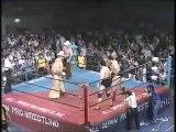 Jumbo Tsuruta/Genichiro Tenryu vs Stan Hansen/Texas Red (All Japan August 17th, 1985)