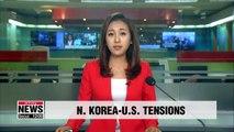 Senior N. Korean official Kim Yong-chol says tensions with U.S. remain