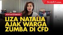 Liza Natalia Ajak Masyarakat Zumba di CFD Jakarta