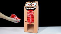 DIY How to Make Coca Cola Vending Machine