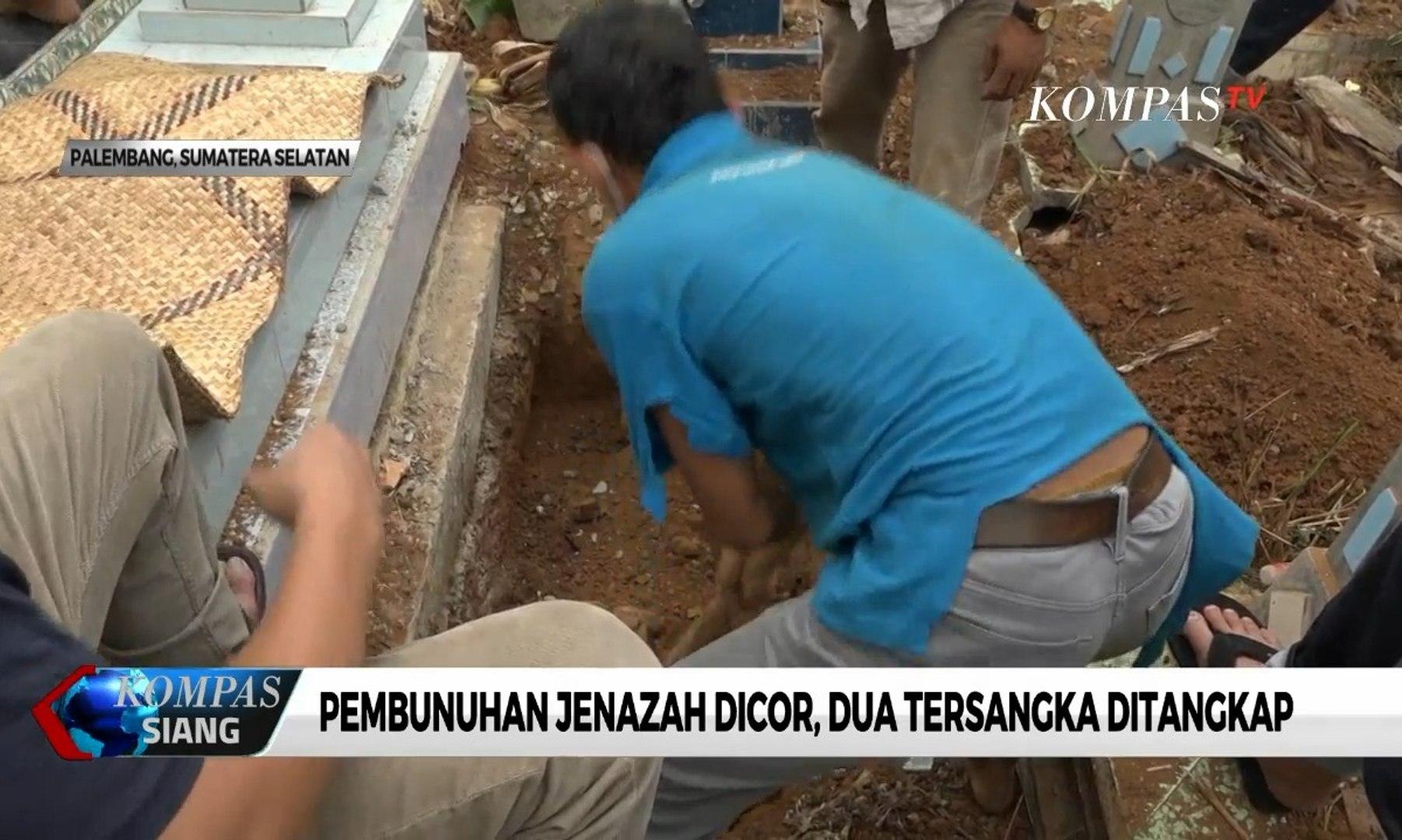 Jenazah PNS Korban Pembuhan Dicor, 2 Tersangka Ditangkap