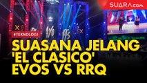 Bergemuruh, Suasana Jelang 'El Clasico' EVOS vs RRQ di MPL Season 4