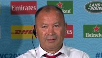 Rugby - 2019 World Cup - Eddie Jones and Owen Farrell press conference after England v New Zealand