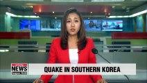 3.4 Magnitude quake hits Gyeongsangnam-do Province