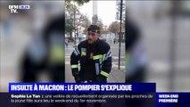 Le pompier qui avait insulté Emmanuel Macron s'explique sur BFMTV