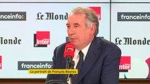 """François Bayrou : """"A Paris, il faut une stratégie de large rassemblement qui va de l'essentiel de la droite républicaine à la majorité des écologistes en passant par le centre."""""""