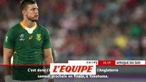 L'Afrique du Sud domine les Gallois et file en finale - Rugby - Mondial