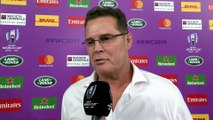 Rassie Erasmus interview after South Africa defeat Wales