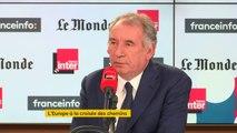 """François Bayrou : """"La réforme des retraites est une réforme difficile qui prendra du temps. L'essentiel est de rassurer les Français sur le niveau futur de leur retraite"""""""