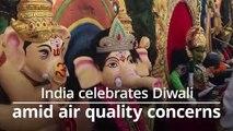 India celebrates Diwali amid air quality concerns