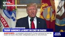 """""""Abu Bakr al-Baghdadi est mort' : Le président des États-Unis annonce la mort du chef de Daesh"""