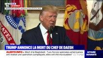 """""""Il n'est pas mort en héros, mais comme un lâche"""" : Donald Trump  détaille les conditions de la mort d'al-Baghdadi"""