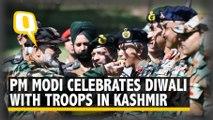 PM Modi Celebrates Diwali With Troops in J&K's Rajouri