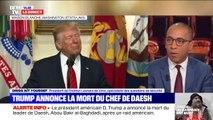 """Mort d'al-Baghdadi : dans l'annonce de Donald Trump, """"on retrouve la même sémantique que pour la mort de Ben Laden"""""""