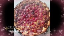 Comment faire une tarte aux cerises - How to make a cherry pie
