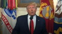 Donald Trump : « Abou Bakr Al-Baghdadi a déclenché sa veste d'explosifs »