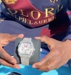 Floyd Mayweather dévoile sa montre RM customisée à plus de 1M€