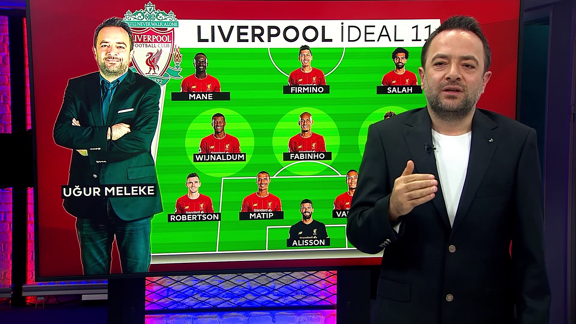 Uğur Melek, Liverpool - Tottenham maçı 11'ini yorumladı