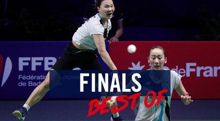 FRENCH OPEN - WD - FINAL - KIM/ KONG (KOR) VS LEE / SHIN (KOR)