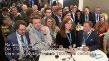 Schwaches Abschneiden bei Thüringen-Wahl macht CDU ratlos