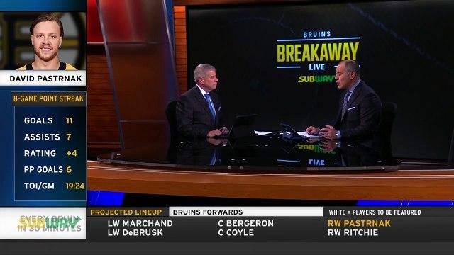 David Pastrnak Has Put Pucks On Net At Career-High Levels This Season