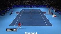 Federer wins 10th Basel title