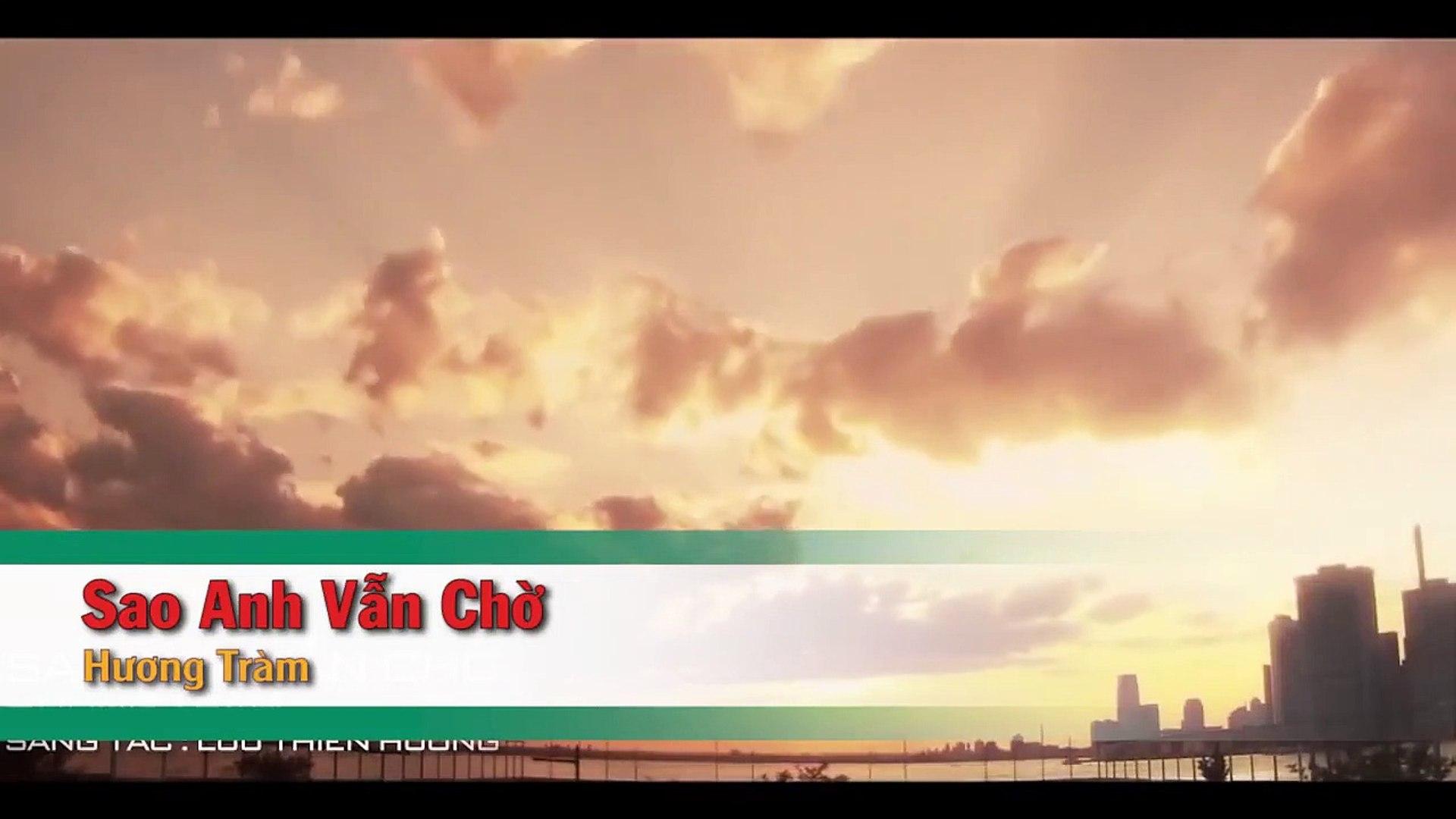 [Karaoke] Sao Anh Vẫn Chờ - Hương Tràm [Beat]