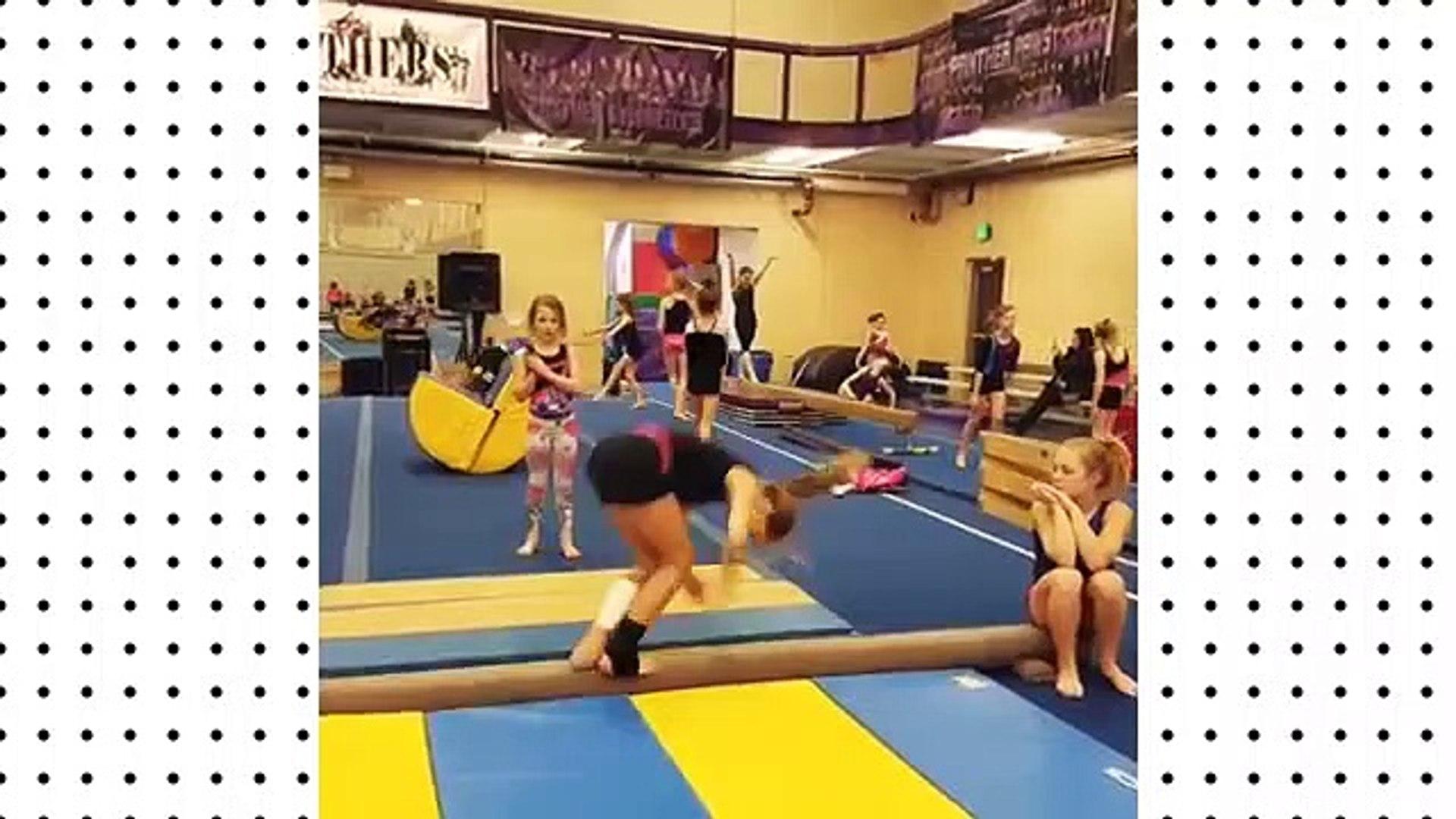 Funniest Kid Gymnastics Fails Compilation! 2019 Videos Viral TRND