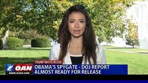 2019 OCT 28 Obama's Spygate; DOJ, IG Horowitz Report Almost Ready For Release