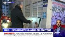 À Paris, les trottinettes électriques n'ont plus le droit de stationner sur les trottoirs