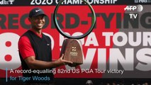 Tiger Woods wins in Japan for record 82nd US PGA Tour title