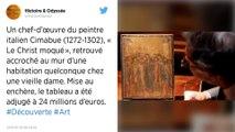 Retrouvé chez une vieille dame de l'Oise, un chef-d'œuvre de Cimabue est adjugé à 24 millions d'euros