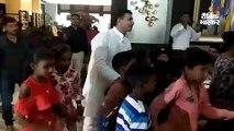पावली पर मंत्री जीतू पटवारी ने गरीब बच्चों को दी पार्टी