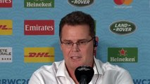 Rugby - 2019 World Cup - Rassie Erasmus Press Conference After South Africa Wins Against Wales