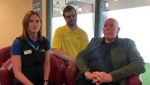 Gosport Leisure Centre team saved a man having cardiac arrest