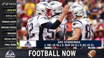 Football Now: Patriots Roster Flux Heading Into MNF Showdown vs. Jets