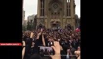 Şili eylemlerinde performans: Örgütlü bir halkı hiçbir kuvvet yenemez