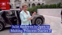 Julie Andrews Talks 'Princess Diaries 3'