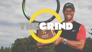 Tiger Woods record tying win