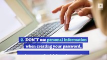 8 Do's and Don'ts of Online Password Management