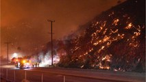 Fire Threatens L.A. Homes, Blaze In Wine Country Rages
