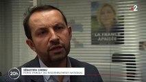 Sébastien Chenu, député du Rassemblement National, s'exprime après l'attaque de la mosquée de Bayonne