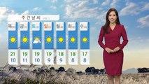 [날씨] 내일 맑고 아침 추위...황사 밤사이 약화 / YTN