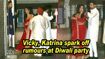Vicky, Katrina spark off rumours at Diwali party