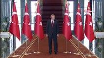 Cumhurbaşkanı Erdoğan, Beştepe'de Tebrikleri Kabul Etti