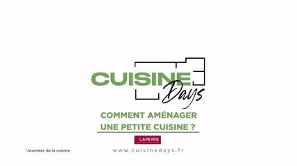 Cuisine Days : Comment aménager sa petite cuisine avec Lapeyre ?